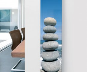 Ximax Glass Designer Radiator P11 Pebbles Image