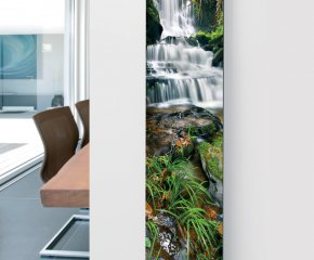 Ximax Glass Designer Radiator P14 Waterfall Image
