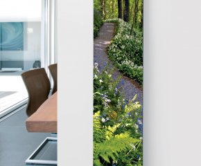 Ximax Glass Designer Radiator P15 Woodland Trail Image