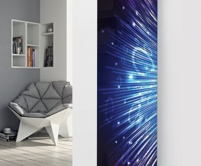 Ximax Glass Designer Radiator P36 Disco Lights Image