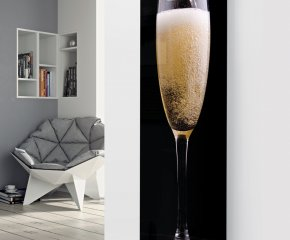 Ximax Glass Designer Radiator P44 Pouring Champagne Image