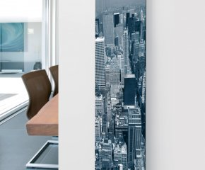 Ximax Glass Designer Radiator P5 City Image