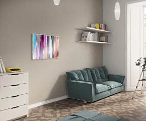 Ximax IR5-V Vertical Infrared Radiator - Multi Coloured Paint Image